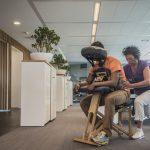 Stoelmassage Den Haag op het werk
