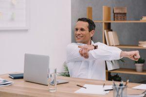 vitaliteit en ergonomie stoelmassage op locatie instellen werkplek community manager