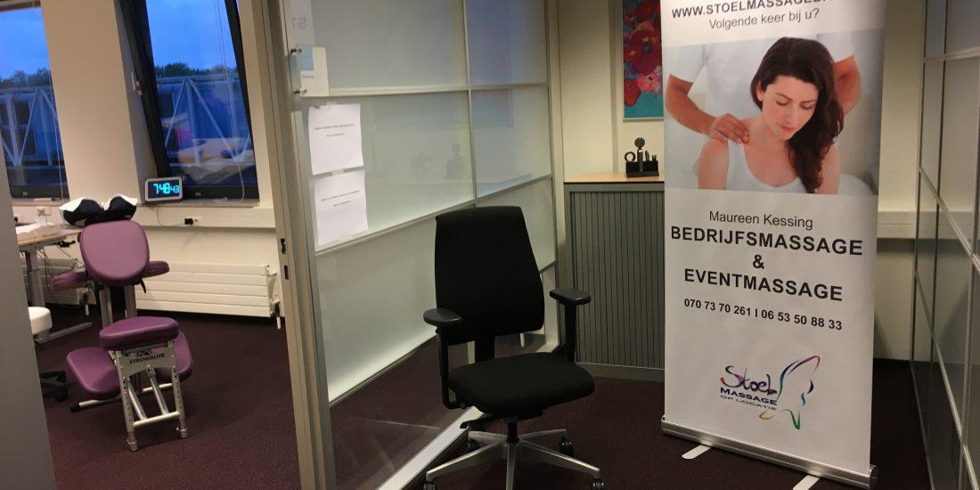 Den Haag Bedrijfsmassage massage op het werk.